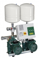 Насосные станции BOOSTER SETS WITH 2 CENTRIFUGAL PUMPS + pilot pump IE3 MOTORS 2NKP-G 50-250/230 22-KVCX 65-80  400-50