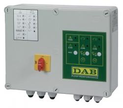 Шкаф упавления и защиты E-Box 2D M/T 12 Amper (for 2 single or three phase pumps)